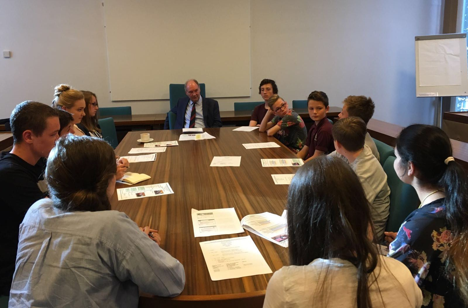 The PCC meets the Warwickshire Youth Parliament