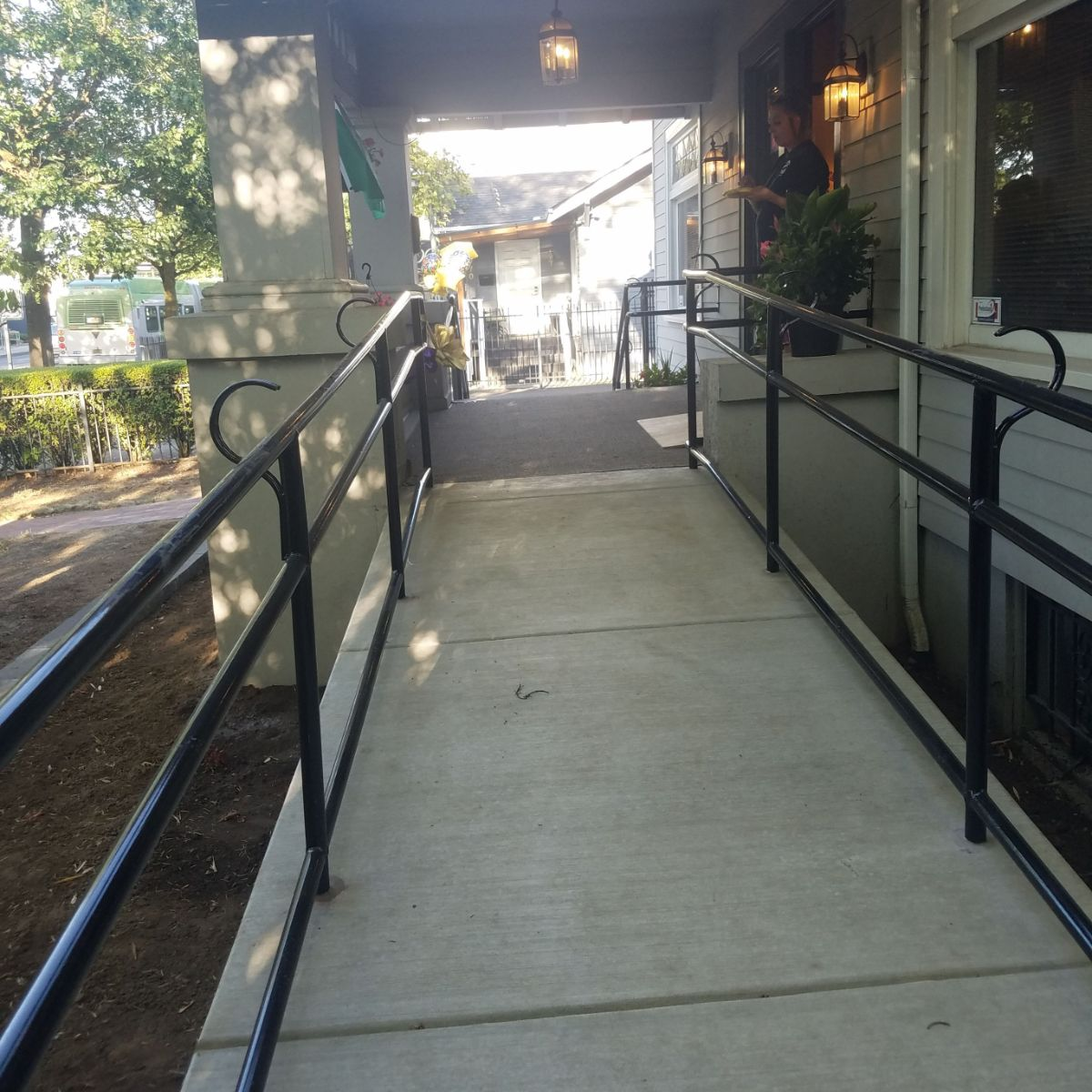 Brand New Accessible Walkway
