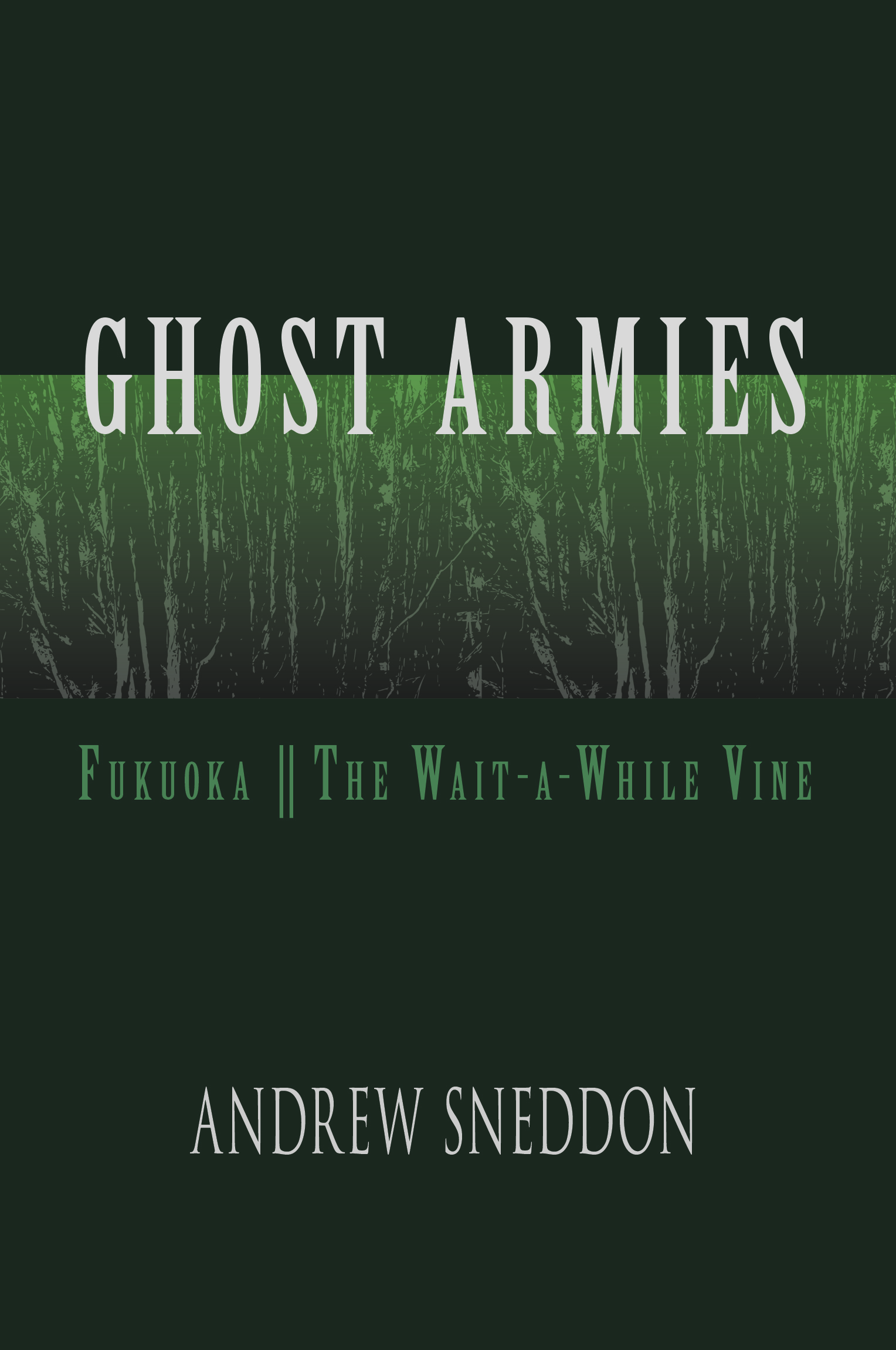 Cover art for Ghost Armies by Andrew Sneddon