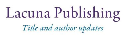 Lacuna Publishing  - title and author updates