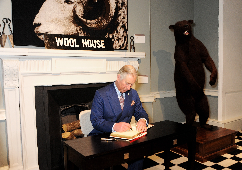 Prince Charles at Wool House
