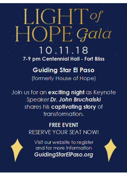 light of hope gala oct 11 at 7pm