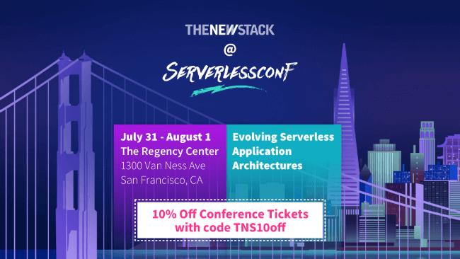 Serverlessconf // JULY 29 - AUGUST 1, 2018//SAN FRANCISCO @ THE REGENCY CENTER