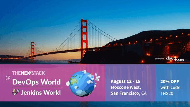 DevOps World | Jenkins World // AUG. 12-15 // SAN FRANCISCO, CALIFORNIA @ MOSCONE WEST