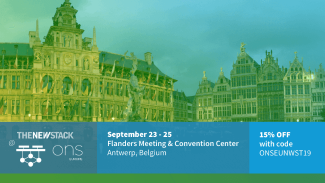 Open Networking Summit EU // SEPT. 23-25 // FLANDERS MEETING & CONVENTION CENTER, ANTWERP, BELGIUM