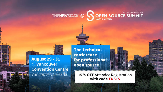 Open Source Summit AUG. 29-31, 2018 // VANCOUVER B.C., CANADA @ VANCOUVER CONVENTION CENTRE