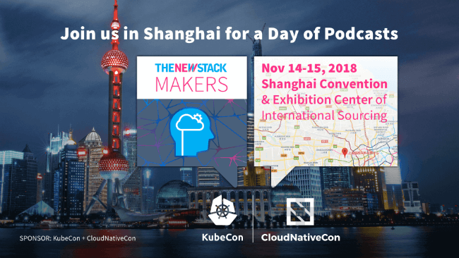 KubeCon+CloudNativeCon China // NOV. 14-15, 2018 // SHANGHAI CONVENTION & EXHIBITION CENTER OF INTERNATIONAL SOURCING