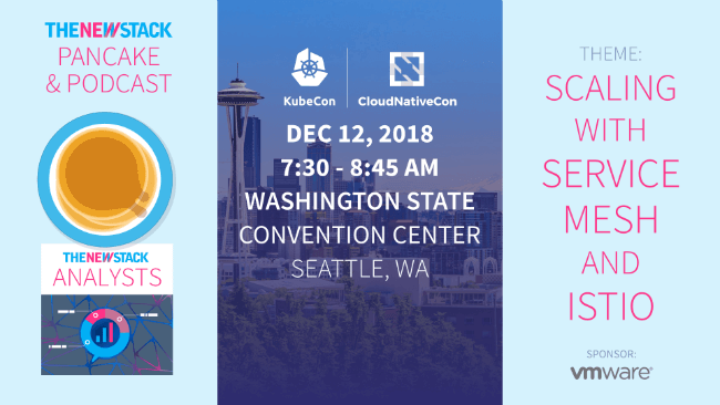 KubeCon+CloudNativeCon NA // DECEMBER 12, 2018//SEATTLE, WASHINGTON @ WASHINGTON STATE CONVENTION CENTER