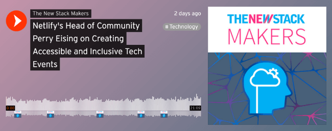 Netlify's Head of Community Perry Eising on Creating Accessible and Inclusive Tech Events