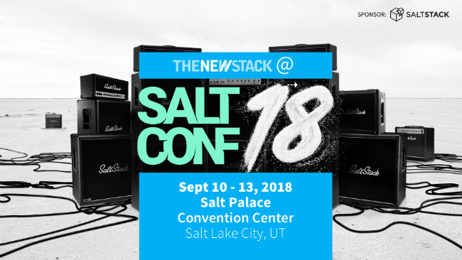 SaltConf 2018 // SEPT. 10-13, 2018 // SALT LAKE CITY, UTAH @ SALT PALACE CONVENTION CENTER