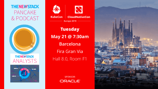 The New Stack & Oracle Pancake Breakfast from KubeCon + CloudNativeCon