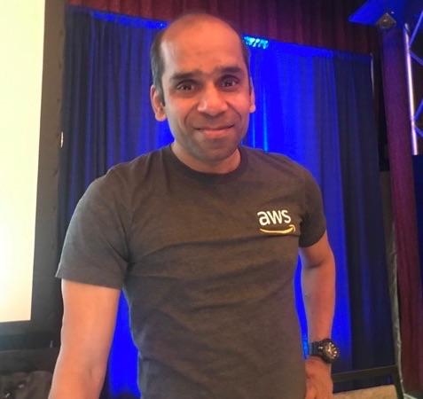Arun Gupta, AWS