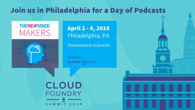Cloud Foundry Summit North America // APRIL 03, 2019//PHILADELPHIA, PA @ PENNSYLVANIA CONVENTION CENTER