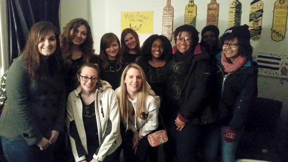 Spring 2015 Pledge Class