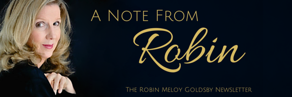 The Robin Meloy Goldsby Newsletter