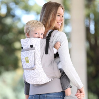 Lillebaby CarryOn Frosted Rose Toddler Carrier - Little Zen One