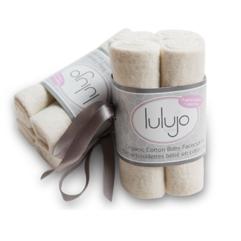 Lulujo Organic Facecloths