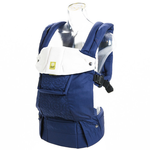 Blue Lillebaby Embossed Carrier