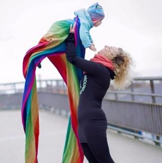 Rainbow Wraps from Didymos