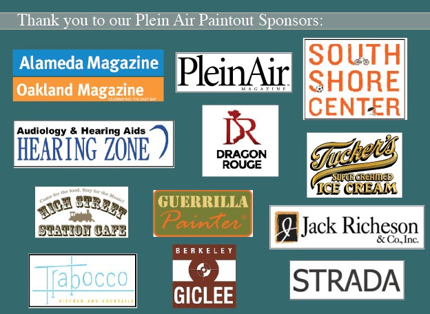 (image) Thank you Plein Air Sponsors for 2014