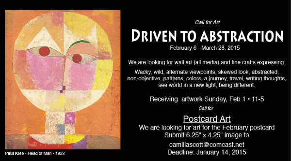 (Image) Call for Art - Driven to Abstraction