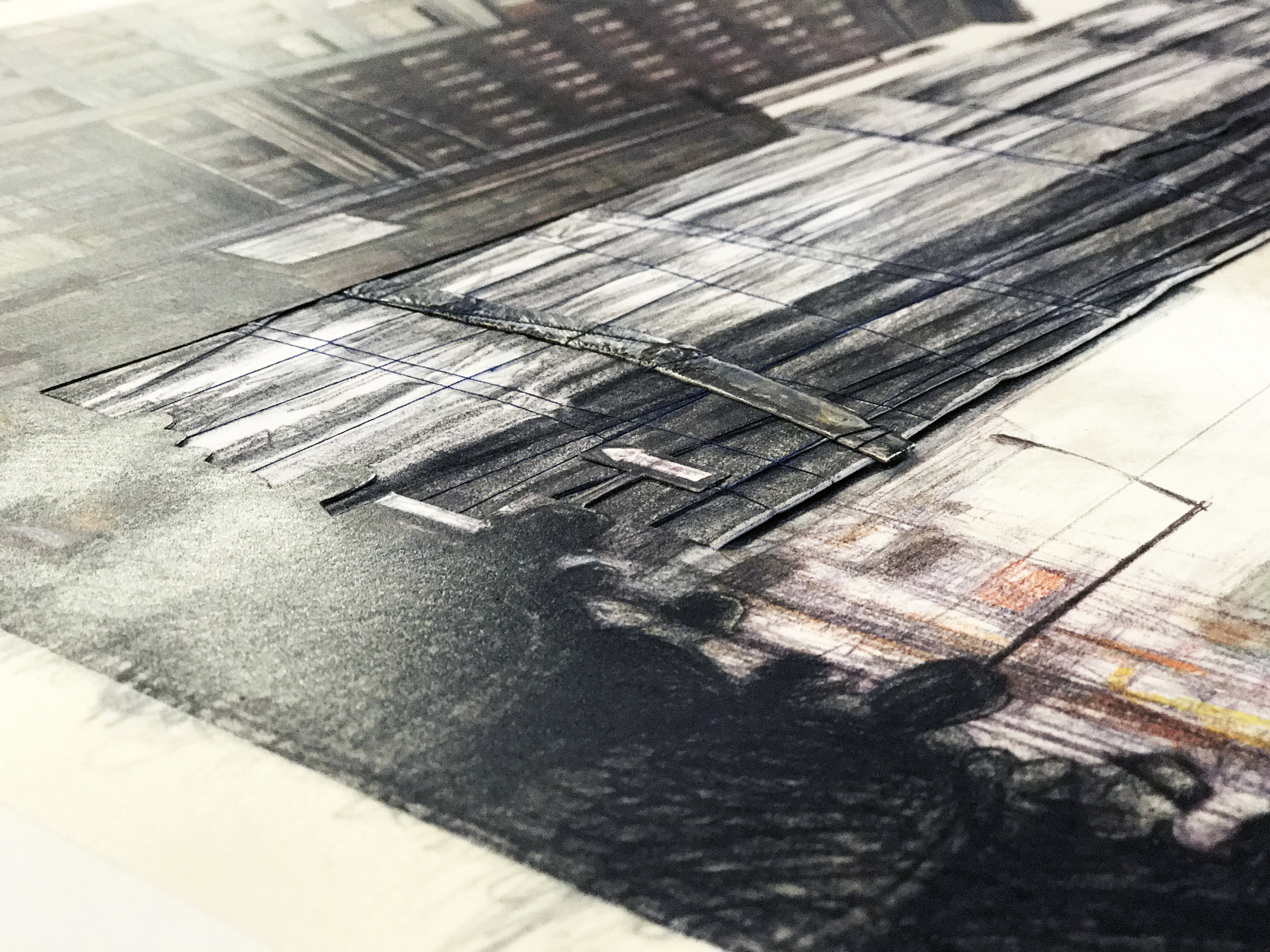 Wrapped Building Times Square New York Christo Art Mixed Media For Sale Price