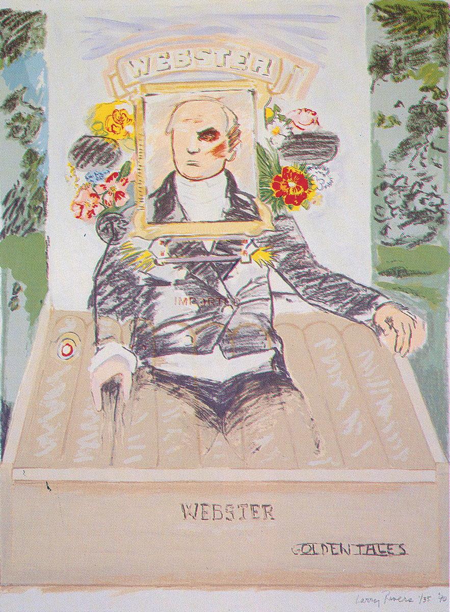 Larry Rivers Signed Art for sale price value webster