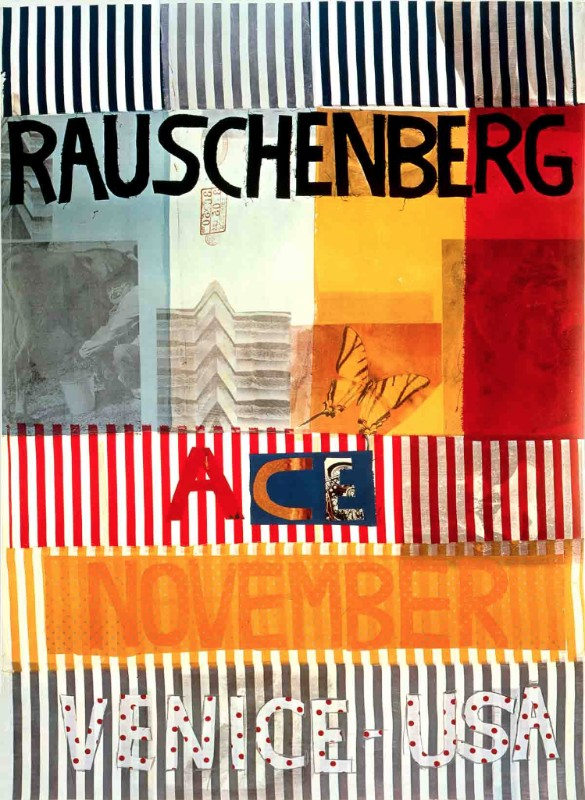 Ace Venice Rauschenberg Poster Large Price