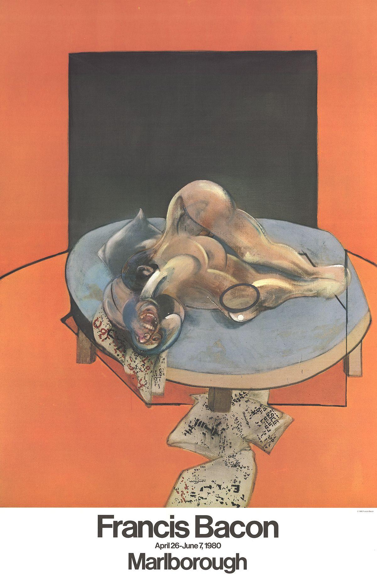 Francis Bacon Marlborough Poster