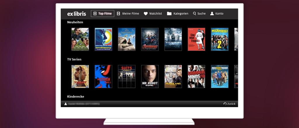 Ex Libris Smart-TV-App