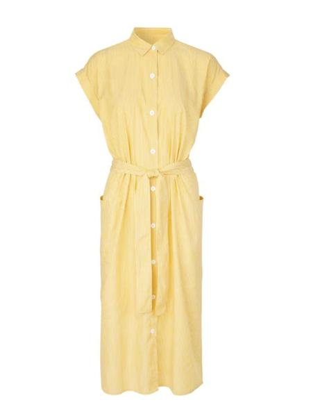 Libertine Libertine Unit Yellow Stripe dress