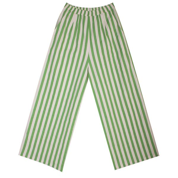 LF Markey Billy Trousers Green Stripe