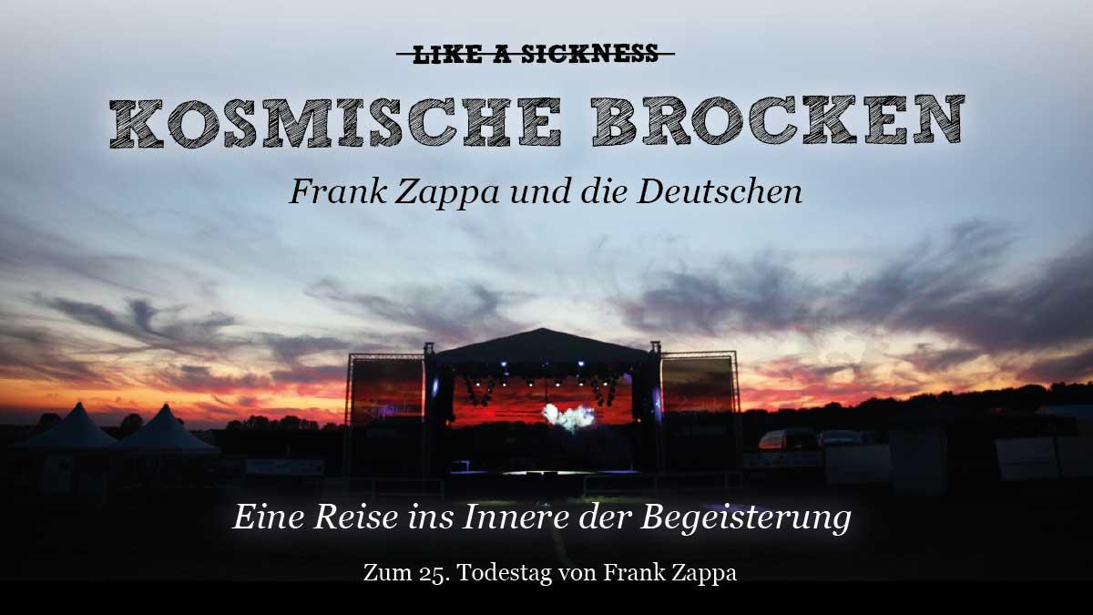 Dokumentarfilm KOSMISCHE BROCKEN - Frank Zappa und die Deutschen