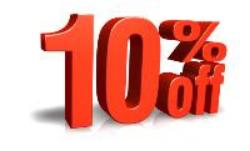 Request a quote today to save 10%*.   *10% discount valid till 07/31/13