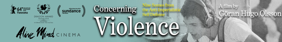 Concerning Violence - Now in Theaters