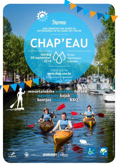 Op zondag 30 september organiseert Aquafin in samenwerking met zijn partners voor de vijfde keer Chap'eau