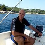 Greg on boat rental Croatia