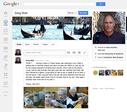 Greg Watt's Google + Page