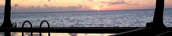 sunset at Sanddollar Vanuatu