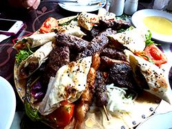 Turkish food in Istanbul