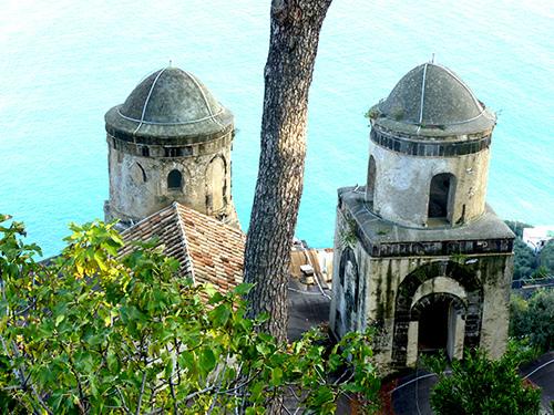 view on the Amafi Coast, Italy