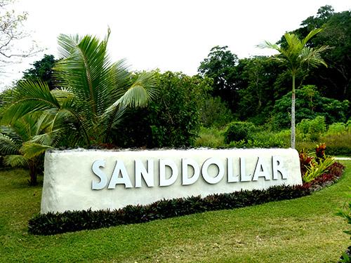 entrance to Sanddollar