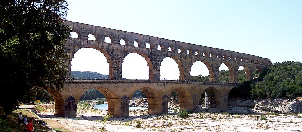 Pont de Gard, France