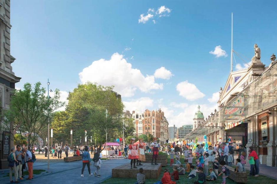 City Reveals Plan For Smithfield Market