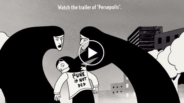 Trailer of 'Persepolis'