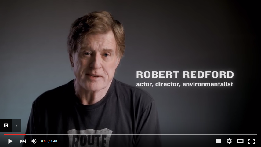 Robert Redford: Demand Climate Action at the Paris Climate Summit