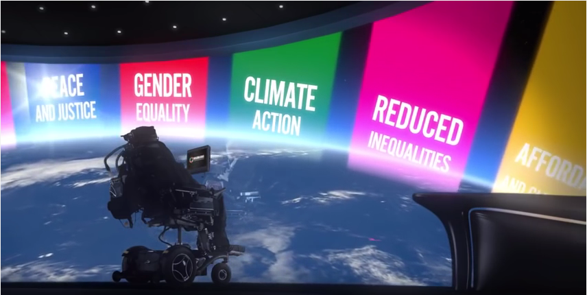 Global Goals Message from Professor Stephen Hawking