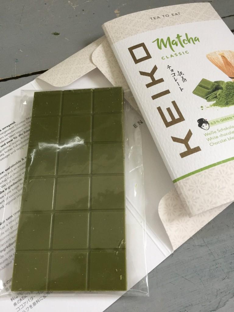 Matcha te chokolade