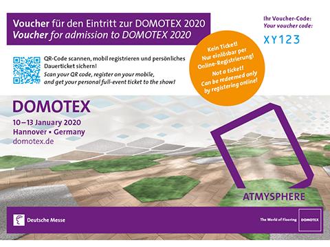 Domotex Voucher