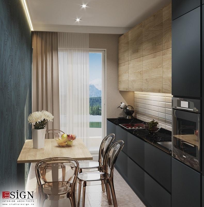 Design interior modern cu accente glamour 3